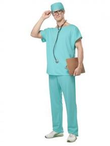 Doctor's Scrubs Green