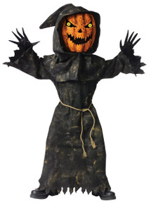 Pumpkin Kid's Bobble Head Costume