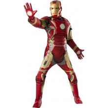 Avengers Age of Ultron Licensed Deluxe Iron Man Costume