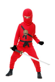 Ninja Avengers Series II Kids Costume Set - Red