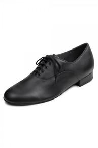 Men's Xavier Black Lace Up Oxford Ballroom Shoe