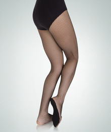 Adult TotalSTRETCH Fishnet No Backseam Tights