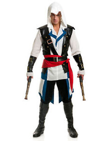 Assassin Cutthroat Pirate Mens Costume