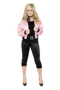 50's Satin Pink Ladies Jacket
