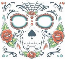 Face Tattoo FX Sugar Skull