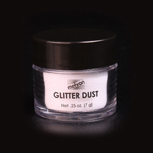 Glitter Dust Opalescent White Mother of Pearl .25 oz