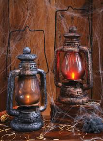 /antique-lantern-prop-painted-styrofoam/