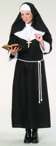 Nun Costume with Cord Belt