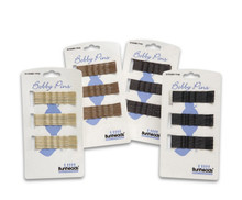 Pack of 25 Professional Bobby Pins - Dark Brown