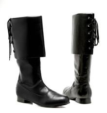 """Sparrow Men's Pirate Boots 1"""" Heel"""