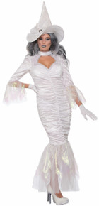Spell Weaver White Witch Dress and Hat