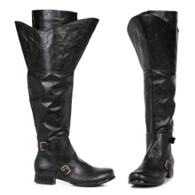 "Tristin Men's Double Calf Pirate Boots 1"" Heel (TRISTIN)"