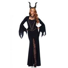 Evil Enchantress Dress & Headpiece (85535LEG)