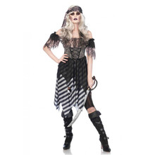 Ghost Pirate Women's 3pc Costume (85561)