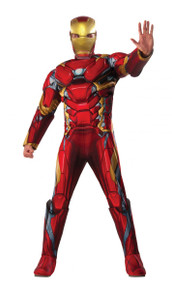 Avengers Licensed Iron Man Muscle Chest Mens Costume From Infinity War