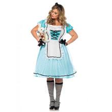 Tea Time Alice Full Figure Dress (85597X)