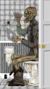 /indoor-and-outdoor-zombie-sitting-on-toilet-door-cover-30in-x-60in/