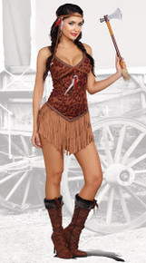 Women's Hot on the Hunt Indian Costume