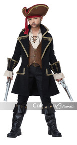 Deluxe Pirate Captain Childs Costume