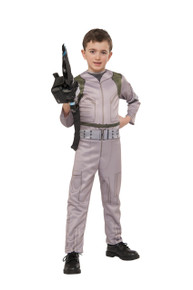 Ghostbuster's Kids Printed Jumpsuit with Inflatable Proton Wand