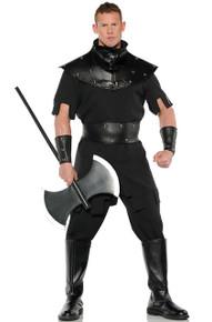 Executioner Black Renaissance Punisher Mens Costume