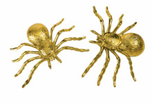 """Spiders Pack of 2 Gold Over 3"""" x 5"""""""