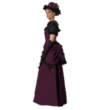 Victorian Era Purple Costume Dress