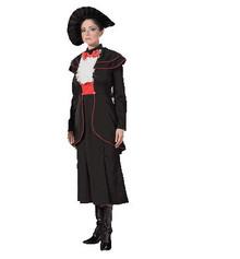 Spoon Full of Sugar Womens Black Victorian Costume