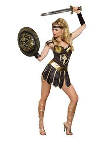 Queen of Swords Warrior Woman