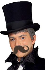 Handle Bar Moustache Dark Brown