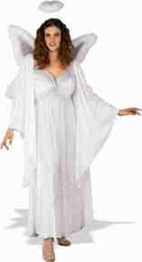 Angel Costume Full-Figured 14-22