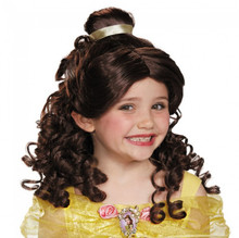 Disney Princess Belle Girl's Wig Ages 4+ Beauty and the Beast