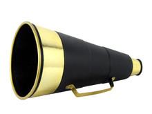 Deluxe Megaphone Black & Gold