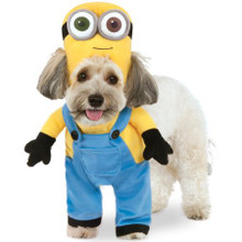 Minion Bob Pet Costume with attached arms