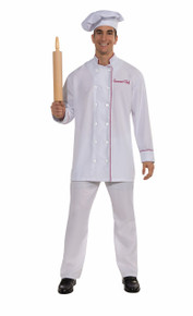 Gourmet Chef Jacket and Hat White