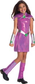 DC Super Hero Girls Deluxe Starfire Costume