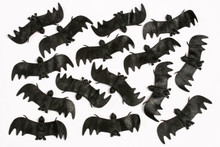 "Bag of 20 Hanging Bats 4"" x 1.5"""