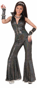 Disco Jumpsuit Costume Adult One Size Fits up to 14/16