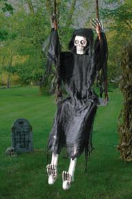 Reaper Swinging on a Swing 5' Figure