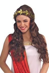 Gold Leaf Headband Flexiable to fit many sizes