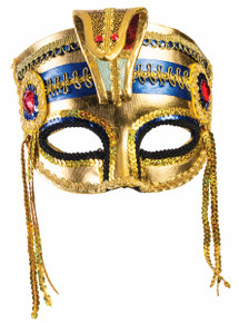 Egyptian Mask with Elastric Strap Venetian Style Half Mask