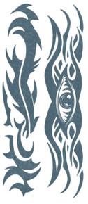 Body Bands Tribal Eye Temporary Tattoo