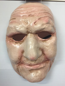 Old Lady Mask Frontal Only Beige