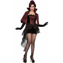 Vampire Seductress Dress and Cape