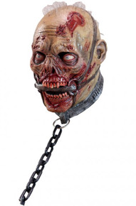 Slave Zombie Mask with black chain