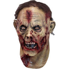 Undead Mask Zombie with open wounds and hair