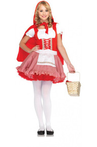 Lil' Miss Red Teen Riding Hood