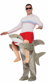 Ride a Shark Ride-on Costume Adult