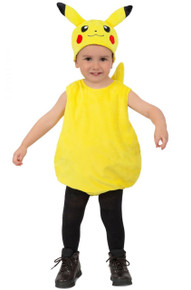 Pokemon Licensed Plush Pikachu Kid's Costume