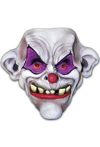 Toofy the Clown Mask Frontal only with Elastic strap